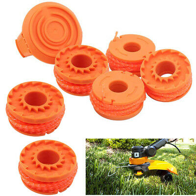 For WORX WA0010 Replacement Spool Line For Grass Trimmer//Edger 6PCS US Stock