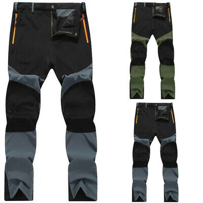 AU Mens Casual Waterproof Outdoor Hiking Climbing Combat Trousers Tactical Pants