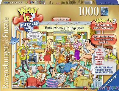 What If The Village Hall Ravensburger Jigsaw Puzzle 1000 Pieces