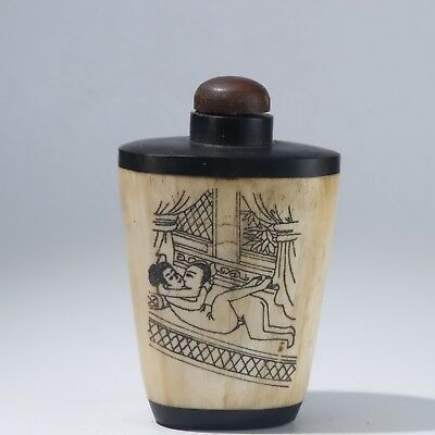 Snuff Bottles,Chinese carving Snuff Bottles B3119
