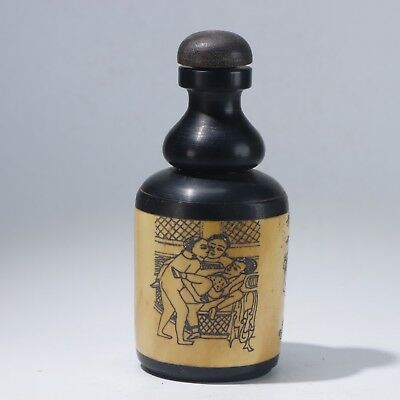 Snuff Bottles,Chinese carving Snuff Bottles B3135