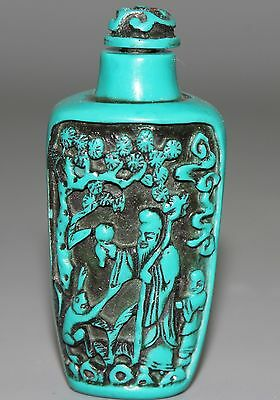 Chinese carving Snuff Bottles A3395