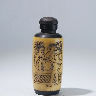 Snuff Bottles,Chinese carving Snuff Bottles B3134