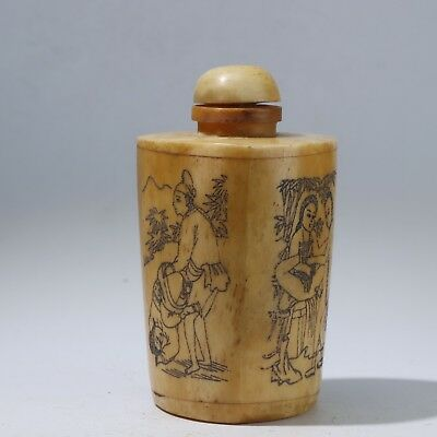 Snuff Bottles,Chinese carving Snuff Bottles B3122