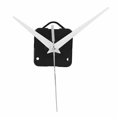 Quartz Clock Movement Mechanism DIY Repair Parts with White Hands Movement Kit