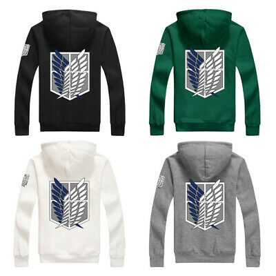 HOT Anime Shingeki No Kyojin Attack on Titan Hoodie Coat Uniform Cosplay Costume