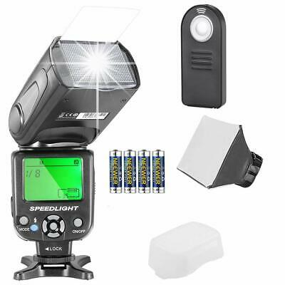 Neewer NW-561 LCD Screen Flash Speedlite Kit for Canon Nikon and DSLR