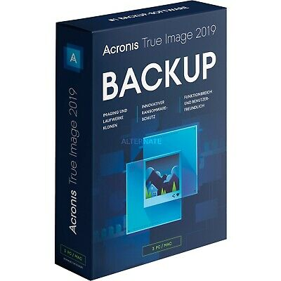 Acronis True Image 2019 Win+ISO Bootable Lifetime Multi Devices