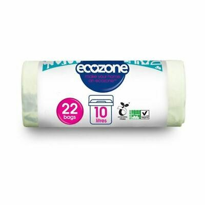 Ecozone Compostable Caddy Line   22bags (9 Pack)