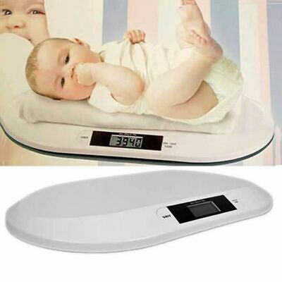 Smart Weigh Comfort Baby Digital Scale with Backlit LCD Display