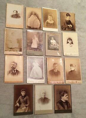 Antique Photos Late 1800's  Early 1900's