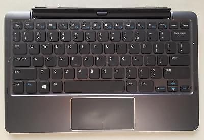 Premium Dell Travel US-Keyboard Tastatur Venue 11 Pro Latitude 11 incl. AKKU