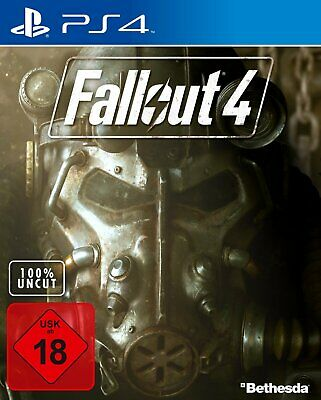 Fallout 4 - 100% Uncut (Sony PlayStation 4, 2015, PS4) USK ab 18