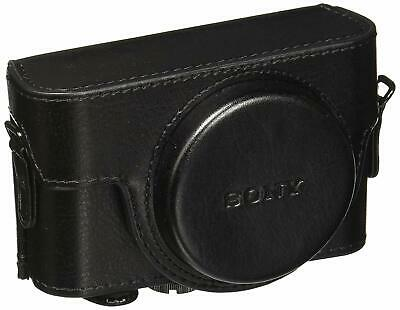 SONY Official Jacket Case LCJ-RXF B Black for RX100III RX100II RX100 Japan