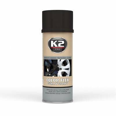 K2 Color Flex Black Gloss 400 Ml - Flüssiger Gummi  (27,25 €/1L)