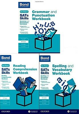 Bond SATs Skills: Reading Comprehension Workbook 10-11 Years 3 Books for Childre