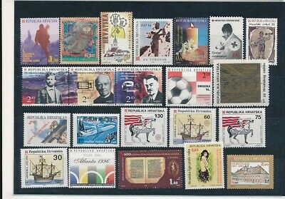 D247634 Croatia Nice selection of MNH stamps
