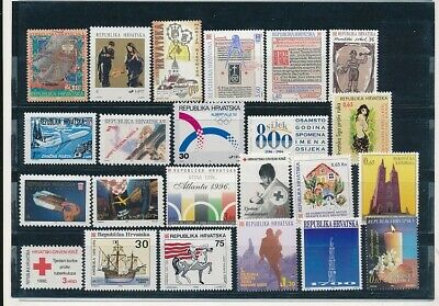 D247636 Croatia Nice selection of MNH stamps