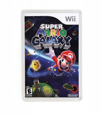 Super Mario Galaxy Wii Nintendo Fridge Magnet Iman Nevera