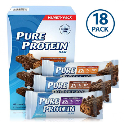 Pure Protein Bars Healthy Snacks To Support Energy 18 Count
