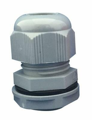 Nylon Cable Gland, M50, Grey (Pack of 5) - CONCORDIA TECHNOLOGIES
