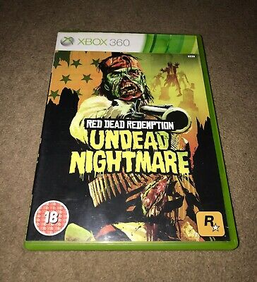 Red Dead Redemption Undead Nightmare - Xbox 360 - PAL - Manual - UK Seller