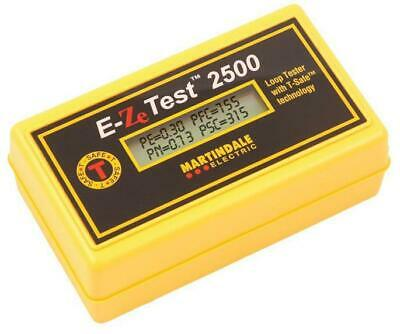EZ2500 Non-trip Earth Loop Impedance Tester - Martindale Electric