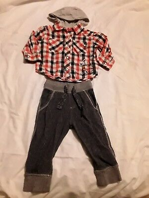 Baby Boys 9-12 Months Joggers Shirt