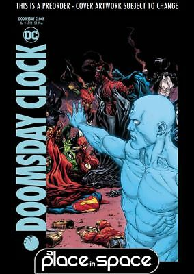 (Wk10) Doomsday Clock #9B - Variant - Preorder 6Th Mar