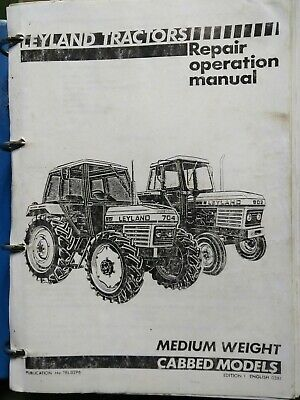 Layland Tractor Worksop Manual