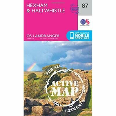 Hexham & Haltwhistle (OS Landranger Map) - Sheet map, folded NEW Survey, Ordnanc
