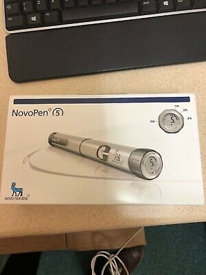 Novo Nordisk NovoPen 5 Insulin Pen,silver 5 Available Please Message For More