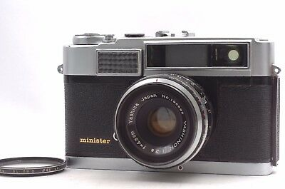@ Ship in 24 Hrs! @ Yashica Minister 35mm Rangefinder Camera Yashinon 45mm f2.8