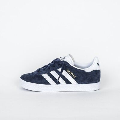 new products a3441 ef631 Scarpe Bambino Adidas Gazelle C By9162 Adidas Gazelle Kids Blue Sneakers Blu