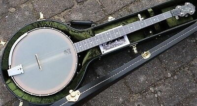 NEU Vega Deering 5 String Open Back banjo 12 inch White Oak Made in USA big rim