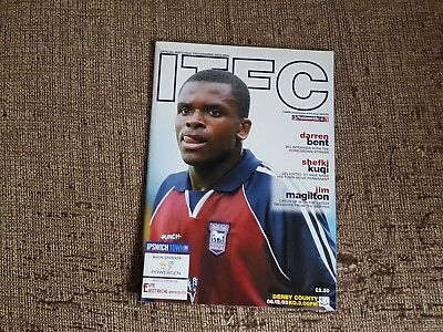 Ipswich Town V Derby County 2003-2004 6th December 2003