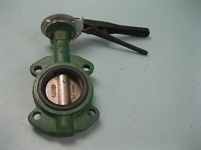 """3"""" Stockham Wafer-Style DI Butterfly Valve DI Disc LD512-DS3-B NEW C19 (2351)"""