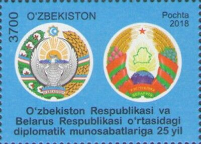 Uzbekistan 2018. Diplomatic Relations Between Belarus and Uzbekistan MNH