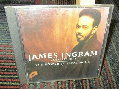 James Ingram: Greatest Hits - Power Of Great Music Cd, 12 Great Tracks, Wb Rec.