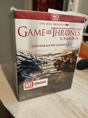 L'INTEGRALE GAME OF THRONES 1 a 7 BLU-RAY COFFRET NEUF SOUS BLISTER