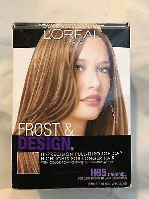 L Oreal Frost Design Hair Kit H65 Caramel 1ct 071249082171a908