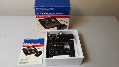 Paterson Electronics System 2000 - PCA 2060 Colour Analyser, Boxed