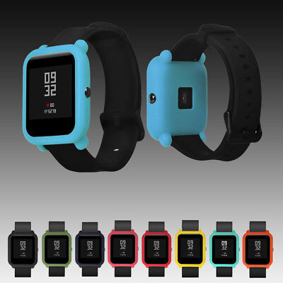 Soft TPU Protector Silicone Full Case Cover For Xiaomi Huami Amazfit Bip Watch