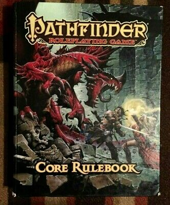 Pathfinder Roleplaying Game Core Rulebook Rpg Hardback