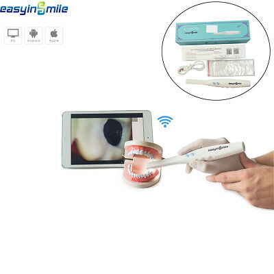 Easyinsmile WIFI Dental Intraoral Camera Wireless 3.0 Mega Pixels HD Oral Camera
