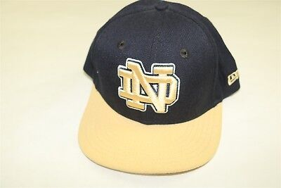 4be461cfe0c Notre Dame Fighting Irish New Era 59Fifty Youth Boys Fitted 2-Tone Hat Cap 6