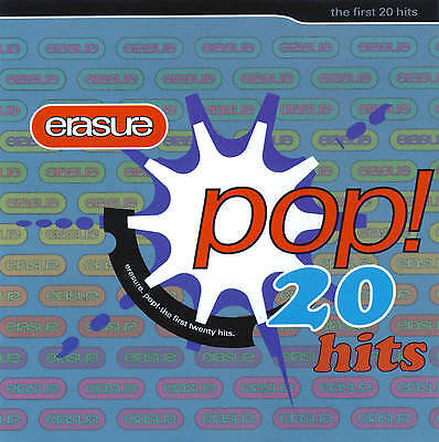 Erasure - Pop ! The First 20 Hits - Greatest Hits Cd - A Little Respect / Stop +