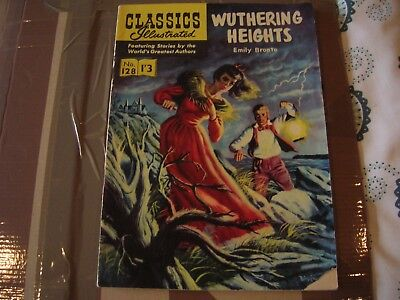 CLASSICS ILLUSTRATED NOS; 128 WUTHERING HEIGHTS 1st edition