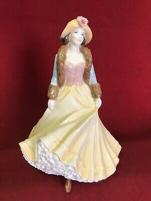 ROYAL WORCESTER PORCELAIN FIGURINE High Society Collection Ladies Day