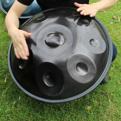 9 Notes Hand Pan Handpan Hand Drum Carbon Steel Material Percussion w/Bag T5R3